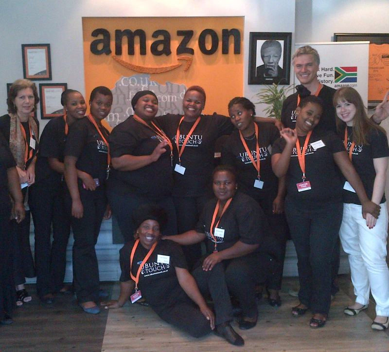 With Amazon, Cape Town – 2014