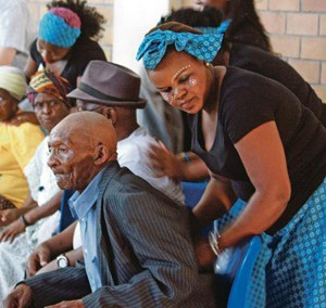 City Press-'Women evicted from shacks give massages to make a living'